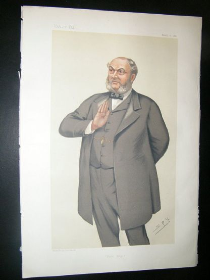 Vanity Fair Print: 1882 Sampson S. Lloyd | Albion Prints